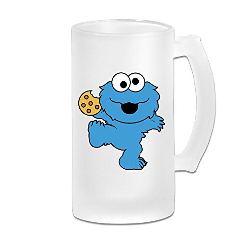 MeiSXue Children's Television Show Nom Nom Nom Cookie Monster Beer Mug