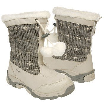 Hi-Tec Women's Snowdonia 200 Insulated Boot,Winter white/Grey,10 M US