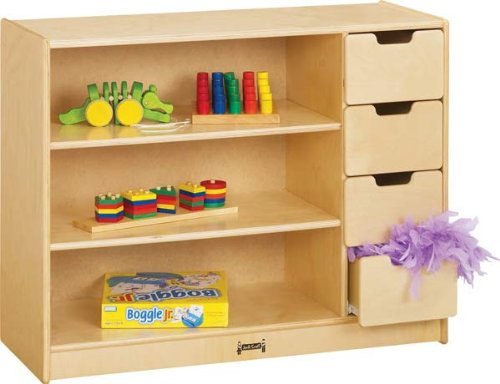 Jonti-Craft 0405JC JontiCraft Storage Unit Kids Shelving