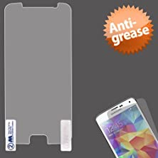 buy Warrior Wireless (Tm) Samsung Galaxy S6 Mybat Anti-Grease Lcd Screen Protector/Clear + Bundle = (Item + Cellphone Stand) - By Thetargetbuys