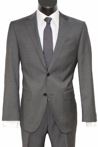 DANIEL HECHTER Slim-Fit 2-Knopf-Anzug stone in 50