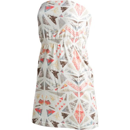 Volcom Make Up Ur Mind Dress - Women's Cream, S