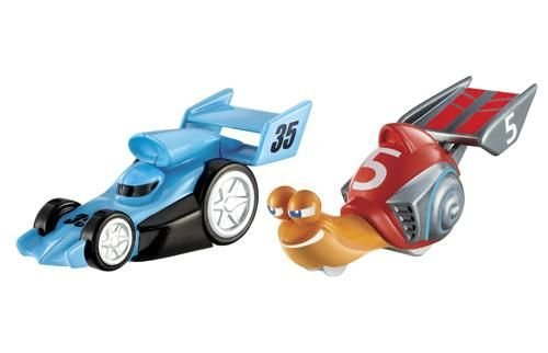 Turbo Vs. Blue Racer