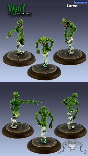 Sorrows (3 Pack) Neverborn Malifaux by Wyrd Miniatures