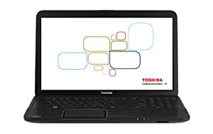 Toshiba Satellite C850D-011 15.6-Inch Laptop, AMD E2-1800, 4GB DDR3, 500GB 5400, AMD RADEON HD 7340 (Genchaku Black)