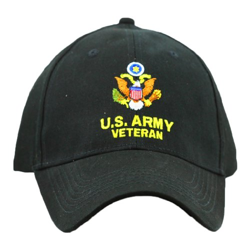 United States Army Veteran Hat Men Women, Military Gifts, Military Collectibles