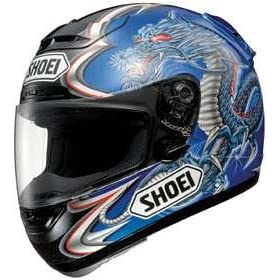 SHOEI X-ELEVEN X11 X-11 XELEVEN KIYONARI TC2 BLUE SIZE:XSM MOTORCYCLE Full-Face-Helmet