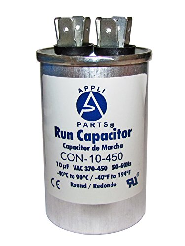 RUN CAPACITOR 10 MFD uF 440V/450 ROUND CAN - UL Certified (Can Capacitor compare prices)