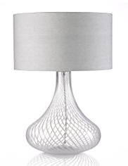 Swirl Teardrop Table Lamp