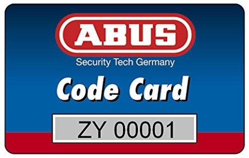 Abus 483028 Profilzylinder D6XNP B/SB mit Codekarte und 5 Schlüsseln, 40/40, nickel pearl - 2