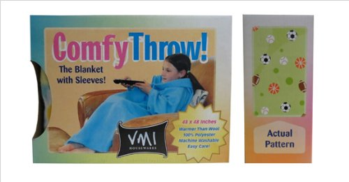 Vmi Kids Comfy Throw, Sports front-474166
