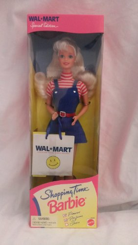 Shopping Time Barbie-Walmart
