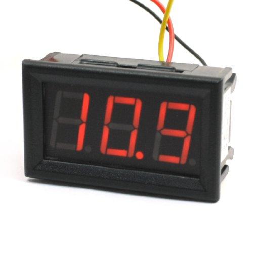 Red Led Display Dc 0-300V Voltage Test Meter Voltmeter Gauge