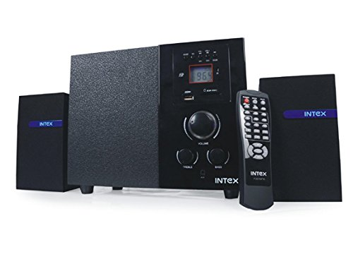 Intex IT 222 SUF 2.1 Channel Multimedia Speakers  Black  available at Amazon for Rs.1785