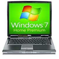 Dell Laptop Latitude D520 Notebook - 1.66GHz - 1GB RAM - 60GB Hard drive - DVD+CDRW - Windows 7 Home Premium