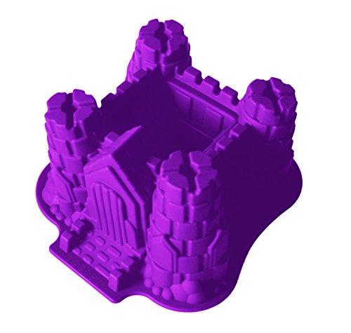Moule en silicone grand Château Château Violet Moule à gâteau