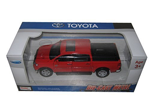 Kingstoy Toyota Tundra Pickup Truck 1:36 Scale Diecast Model Car Red 89108RD (Toyota Pickup Truck compare prices)