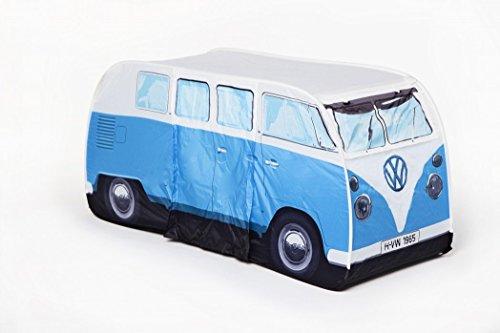 VW Volkswagen T1 Camper Van Kids Pop-Up Play Tent - Blue - Multiple Color Options Available (Volkswagen T1 Camper Van compare prices)