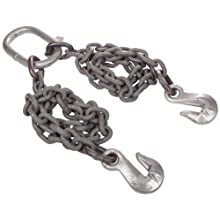 Mazzella DOG Welded Alloy Chain Sling, Fixed-Leg, Grade 100, Load Capacity at 60°