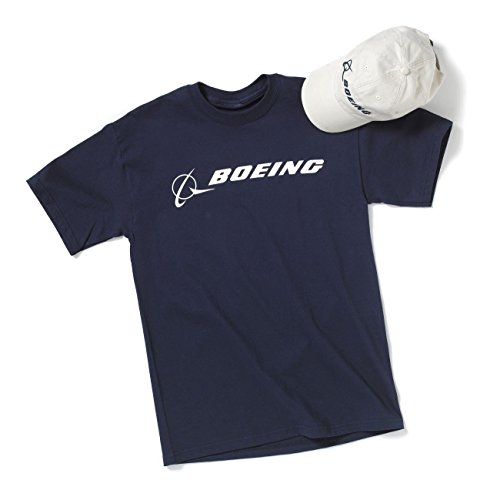 Signature Hat & T-shirt Set; Col: NAVYSTONE; Siz: XL (Boeing Cap compare prices)