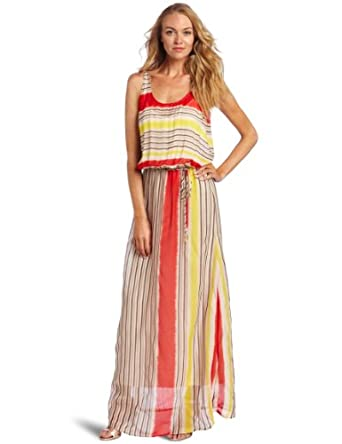 Corey Lynn Calter Women's Holly Maxi Tank Dress, Multi, 2