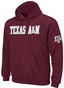 Texas A&M Aggies Men's Huddle Up Maroon Hooded Fleece Sweatshirt:2XL