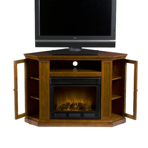 SEI Claremont Media Console  Electric Fireplace,