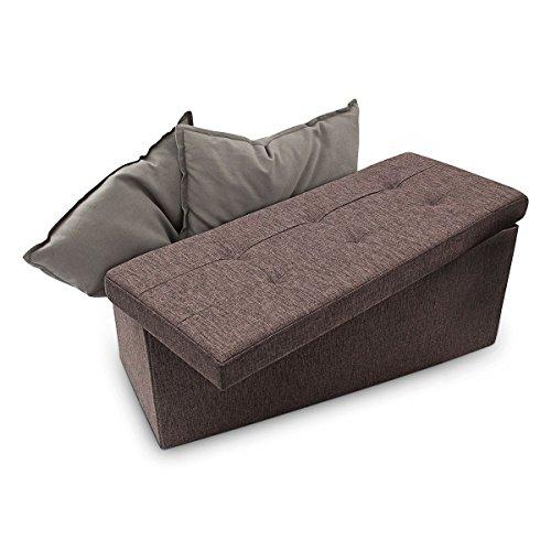 Relaxdays-Faltbare-Sitzbank-XL-38-x-76-x-38-cm-HxBxT-stabiler-Sitzcube-mit-praktischer-Fuablage-als-Sitzwrfel-aus-Leinen-als-Aufbewahrungsbox-mit-Stauraum-und-Deckel-zum-Abnehmen-fr-Wohnraum-braun