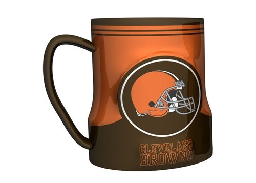 Cleveland Browns Coffee Mug - 18Oz Game Time