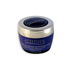 Attitude Line Night Moisturizer with Dmae for Combination Skin, 1.75-Ounce