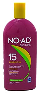 NO-AD Sunscreen Lotion, SPF 15 16 oz