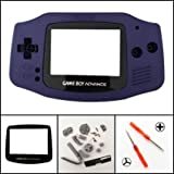 Gametown® Full Housing Shell Cover Case Pack for Nintendo Gameboy Advance GBA Repair Part Color Blue