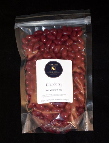 David's Signature Beyond Gourmet Cranberry Jelly Beans - Luxurious Jelly Bean Confections - Ideal Gourmet Candy Gift, Candy Buffet & Wedding Favors - No Artificial Colors, Preservatives - 1 Pound (Candy Corn Pastel compare prices)