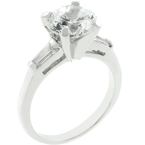 Engagement Ice Fashion Ring