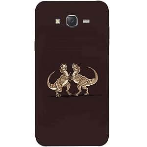 Casotec Dinosaur Design Hard Back Case Cover for Samsung Galaxy J7