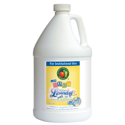 Earth Friendly Products Proline Pl9767/04 Baby Laundry Soap With Chamomile And Lavender, 1 Gallon Bottles (Case Of 4) front-138971