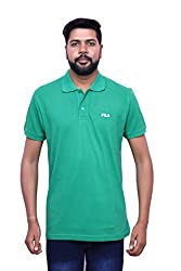 FILA MENS COTTON POLO T-SHIRT (Medium)