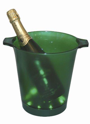 Seau à Champagne Vert Lumineux, avec 2 poignées