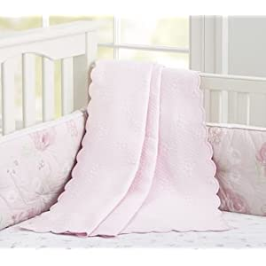 Childrens Nursery Bedding on Com  Pottery Barn Kids Organic Floral Matelasse Nursery Bedding  Baby