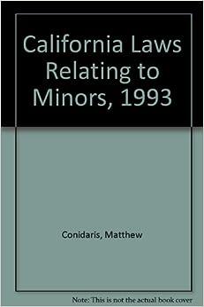 Laws regarding dating minors in California