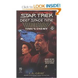 Time's Enemy (Star Trek Deep Space Nine: Invasion, Book 3) by L.A. Graf