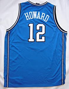 Dwight Howard Orlando Magic Authentic Blue Away Unsigned Jersey by Real Deal Memorabilia