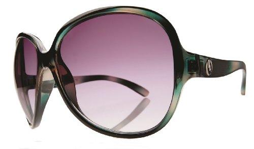 Electric Rockabye Sunglasses Emerald/Grey Gradient, One Size