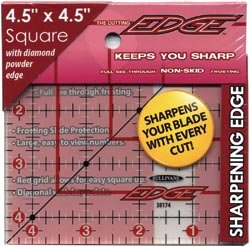 Sullivans The Cutting EDGE Frosted Ruler-4-1/2