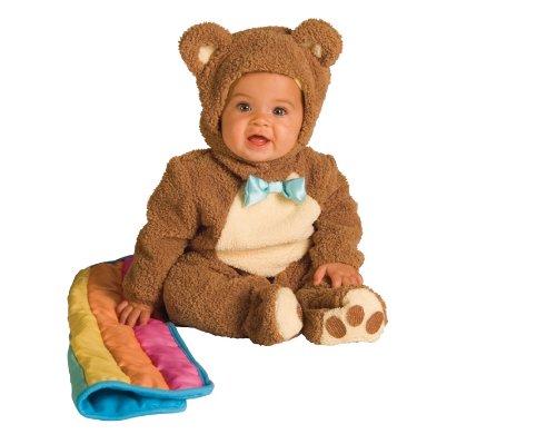 Image - Rubie's Costume Infant Noah Ark Collection Oatmeal Bear Jumpsuit Costume