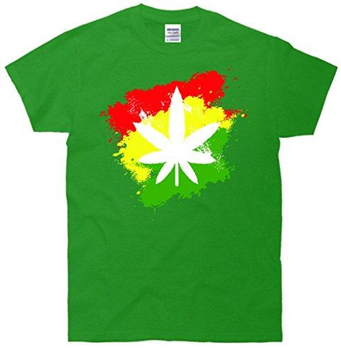 Weed Marijuana Grunge T-Shirt