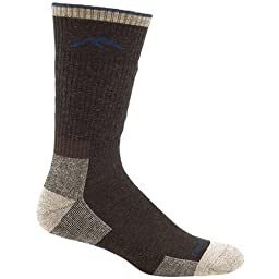 Darn Tough Vermont Merino Wool Boot Cushion Sock (Chocolate, Medium)