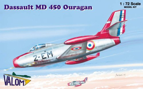 new valom MD 450 Ouragan 1/72
