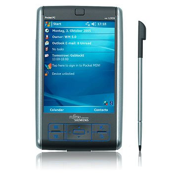 Fujitsu Siemens Pocket LOOX N560 with Extended Battery - 2nd User
