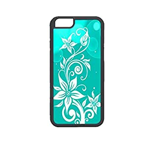 Vibhar printed case back cover for Apple iPhone 6 BWFlower